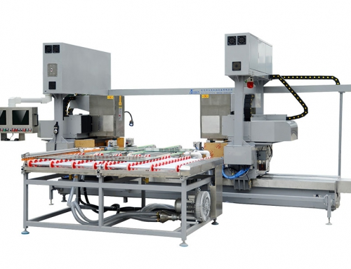 Two-spindle glass chamfering line(ZD-560-P)