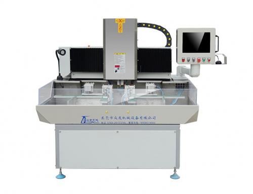 Double station glass chamfering machine(ZD-440-P)